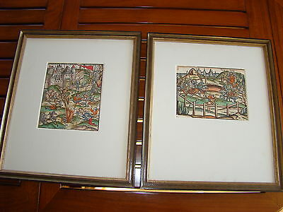 RARE 16th C. ARMOR WOODCUTS JOUSTING MATCH & SIEGE OF TROY by BEHAM (1500-1550)