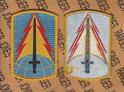 US ARMY 116th Military Intelligence Brigade shoulder patch m/e