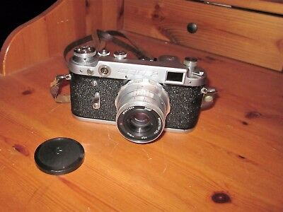 Circa 1960   FED 2  with F2.8 50mm Lens & Case