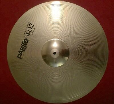 """Used Paiste 402 20"""" Ride Cymbal - Excellent condition"""
