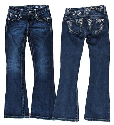 Girl's Miss Me jeans Size 7 (Lot Of 4) Bling Pockets