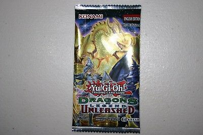 Yu-Gi-Oh! Dragons of Legend: Unleashed Sealed Booster Pack 1st Edition English