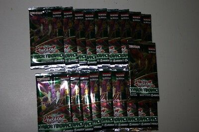 YuGiOh! Invasion: Vengeance 1st Edition New And Sealed Booster Packs x19