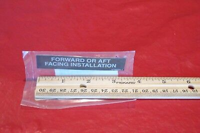 Cessna Decal Forward or Aft Installation 5798000-1