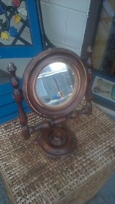 Antique Edwardian Dressing Table Mirror