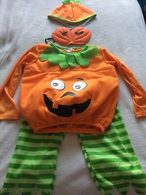 Halloween Pumpkin Outfit Costume 3-4 Years