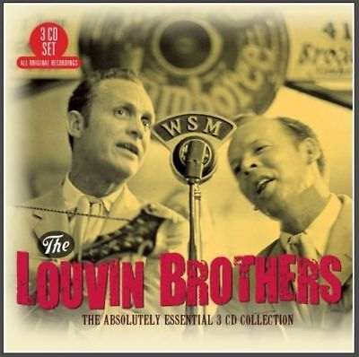LOUVIN BROTHERS * 60 Greatest Hits * Import 3-CD BOX SET *All Orig Songs * NEW
