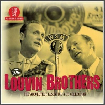 LOUVIN BROTHERS * 60 Greatest Hits * NEW 3-CD Boxset * All Original Songs * NEW