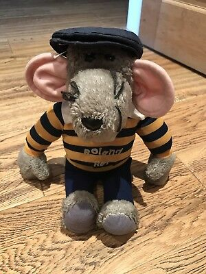 Vintage 1980s Roland Rat 'Superstar' Soft Toy by Hasbro