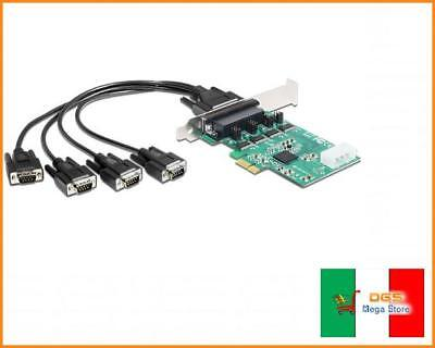 Delock 89335 - Interface Cards/adapters (pcie, Serial, -30 - 75 -