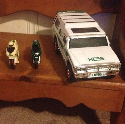 HESS Sports Utility Vehicle And Motorcycles, 40th Anniversary 2004