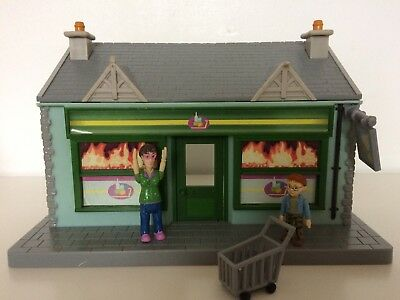 Fireman Sam Supermarket Shop With Dilys And Norman