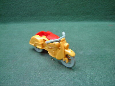 RARE 1950s KLEEWARE Plastic Motorcycle & Sidecar Made In England Harley? Indian?