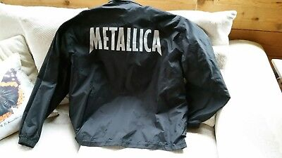 Metallica Hardwired tour jacket xl