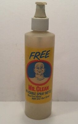 Vintage 1950's Mr. Clean Bottle Free Sample Rare Advertising Character Spray