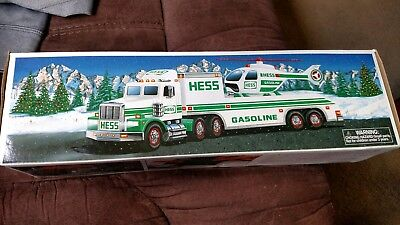 1995 Hess Truck And Helicopter, Nib