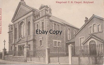Kingsland C.M.Chapel Holyhead Anglesey