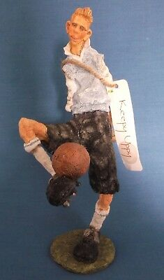 Country Artists Grant Palmer Views On Life Football Keepy Uppy Figurine With Tag