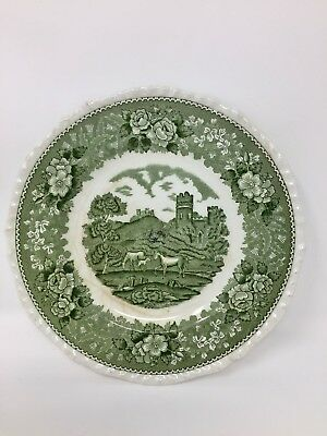 Antique Old English Staffordshire Adams Collectors Plate