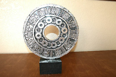 AZTEC / MAYAN   D`Argenta Silver Plated Statue