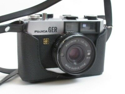 Vintage Fujica Ger Film Camera 38Mm Rangefinder