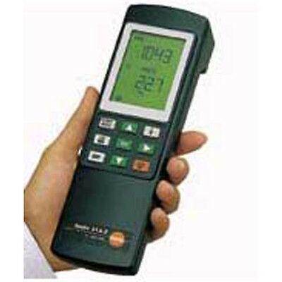 Testo 312-2 Precision Manometer Up To 40/200 HPA, Dvgw Approval