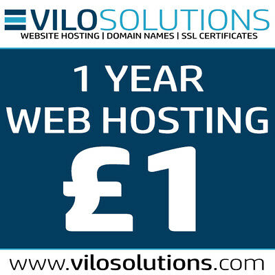 1 Year Cpanel Fast & Reliable Web Hosting With Softaculous - Only £1 !!!