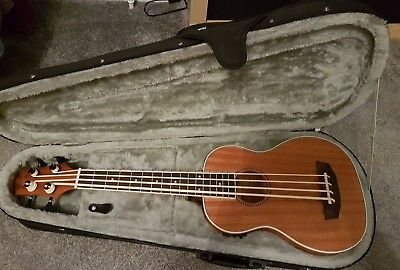 NEW countryman UB electro acoustic bass ukulele in Case BOLTON