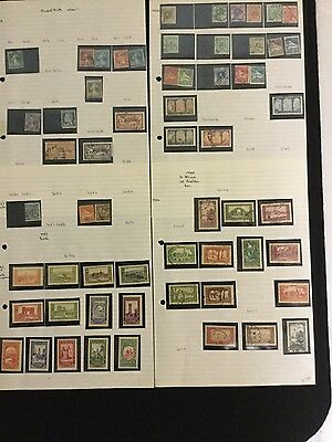 Algeria Stamp Collection 1924-1989 (see all photos) 203 Stamps