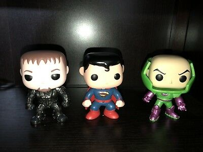 Superman Funko Lot Check It Out!!