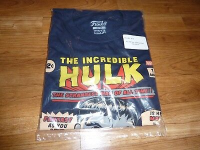 MARVEL INCREDIBLE HULK T-SHIRT - Collectors Corps Exclusive - Size Large