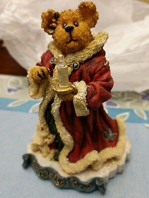 "Boyds Bears ""Krystle B Bearbright"" Believe Santa Christmas #228402 1E/3253"