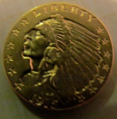 United States 1915 $2.50 Indian Quarter Eagle Gold Coin