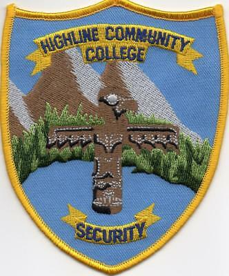 Highline Community College Security Patch WA