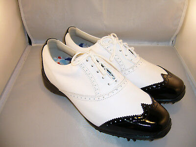 BNWOB Brand New Footjoy Lopro Collection 97037 Golf Shoes Size 9W RRP $399 SH57