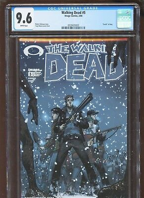 Walking Dead 5 CGC 9.6 NM+ | IMAGE 2004 | Death of Amy