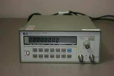 HP Agilent 5384A Frequency Counter, Recent Calibration, 30 day Warranty