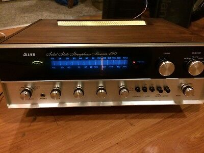 Vintage Allied Solid-State StereoPhonic Model 490 Excellent Condition