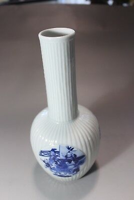 19th C Antique CHINESE PORCELAIN VASE with Figures