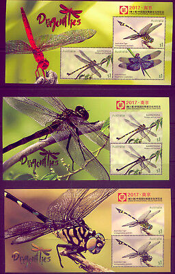 CHINA: LOVELY  STAMPS in MINT CONDITION : DRAGONFLY & KOALAS LOW  RESERVE!!!