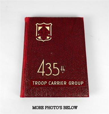 Ww2 Airborne 435Th Troop Carrier Group Military Book Over 200 Pages