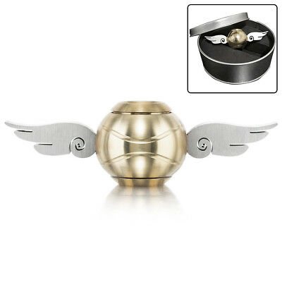 Harry Potter Gold Snitch Hand Fidget Spinner Wings Stress Relief Toys NEW