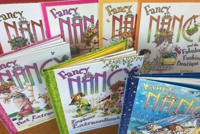 Fancy Nancy- 7 Books In Excellent Condition