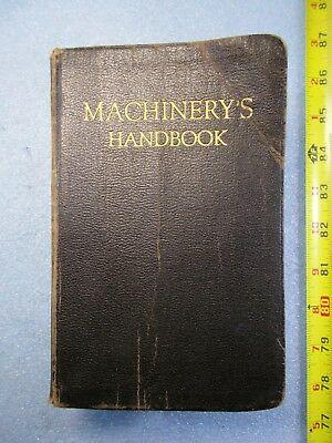 Vintage Collectable Machinery Handbook Revised and Enlarged 6th Edition