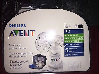 Avent Naturally Isis Manual Breast Pump