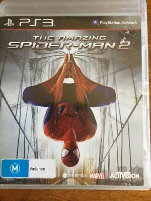 PS3 Game The Amazing Spider-Man 2