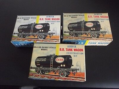 Airfix - B.R. Tank Wagon - Job Lot 3 Boxes - Spares / Repairs etc