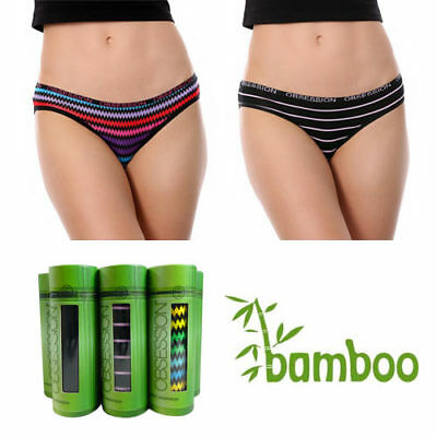 New Ladies Womens Bamboo  Hipster Bikini Briefs Pants Underwear RRP $18.95 8-16