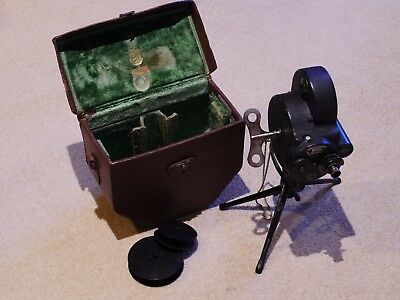 B&h Filmo 70A 16Mm Movie Camera With Taylor Hobson Cooke Cinema Lens - Historic