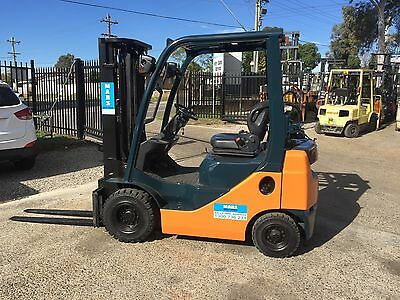 Forklift , Toyota , Container Mast , 2010 , Scales , Cheap , 1.8 Tonn , Lqqk Wqw